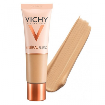 Vichy Mineralblend Fondo de Maquillaje 09 Oscuro, 30ml.