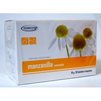 HOMEOSOR  manzanilla  20 bolsitas