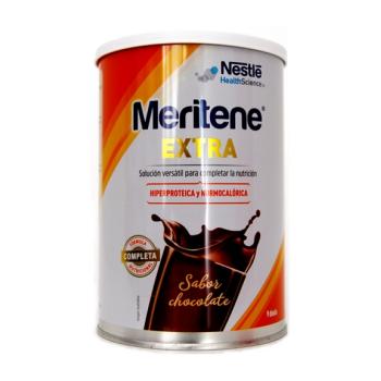 Meritene Extra 450 gr, Complemento Dietético Sabor Chocolate.