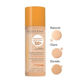 Bioderma Photoderm Nude spf50+, 40 ml. Tono Natural.