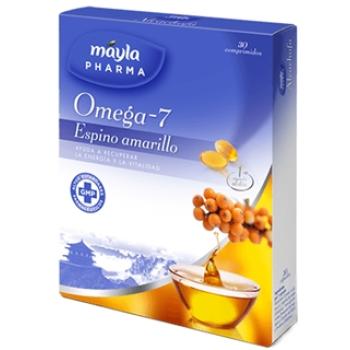 Mayla Omega-7 Espino Amarillo, 30capsulas.