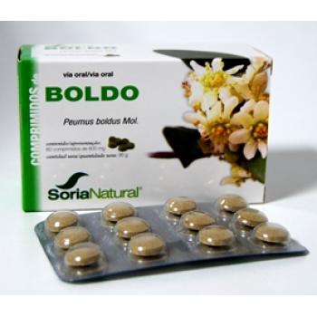 SORIA NATURAL  Boldo 600 mg 30 comprimidos