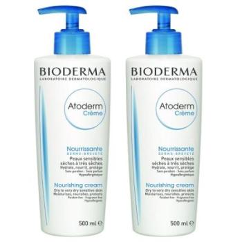 Bioderma Atoderm crema, 500ml.Pack 2Un.
