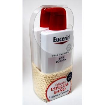 Eucerin Especial Baño: Eucerin Locion 400ml. + Eucerin Gel 400 ml.