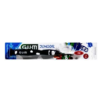 GUM  cepillo dental Junior  7-9 años NEGRO