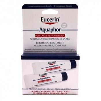 Eucerin Aquaphor Bálsamo Reparador Cutáneo 2 x 10 ml.