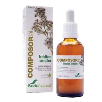 Soria Natural  Composor 25 Lepidium Complex  50 ml.