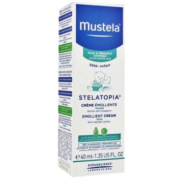 Mustela Stelatopia Crema Emoliente Facial, 40ml.
