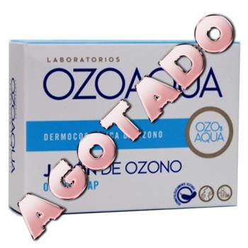 Ozoaqua Jabón de Ozono, 100gr, Acción Hidratante Calmante y Regeneradora.
